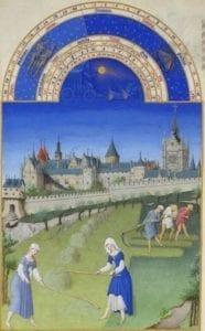 Scéna z Přebohatých hodinek vévody z Berry