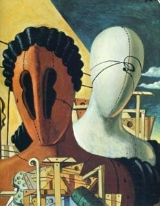 Giorgio de Chirico, Les Masques, 1926