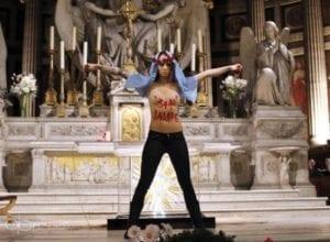 """Aktivistky Femen nějakou záhadou doposud """"nevystoupily"""" v žádné synagoze"""