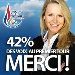 Marion Maréchal-Le Pen: Děkuji!