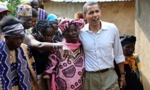 Barack Obama, Keňa 2006