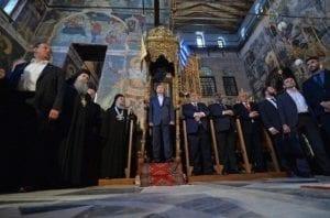 Vladimír Putin, Athos