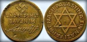 Pamětní medaile Ein Nazi fährt nach Palestina