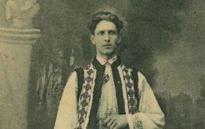"""Corneliu Codreanu (1899-1938), zakladatel a vůdce Legie archanděla Michaela, také známé jako rumunská """"Železná garda."""""""