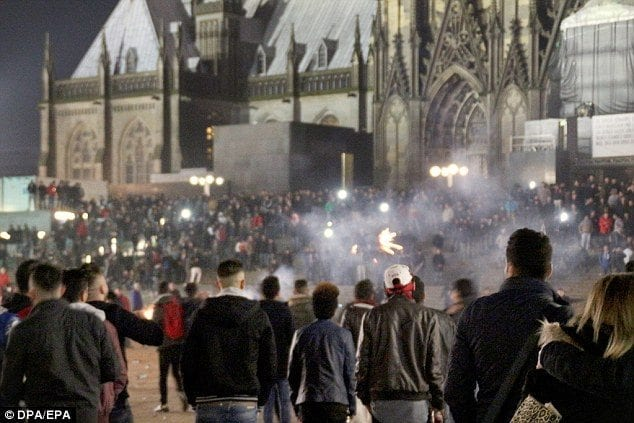 Kolín nad Rýnem, Nový rok 2015