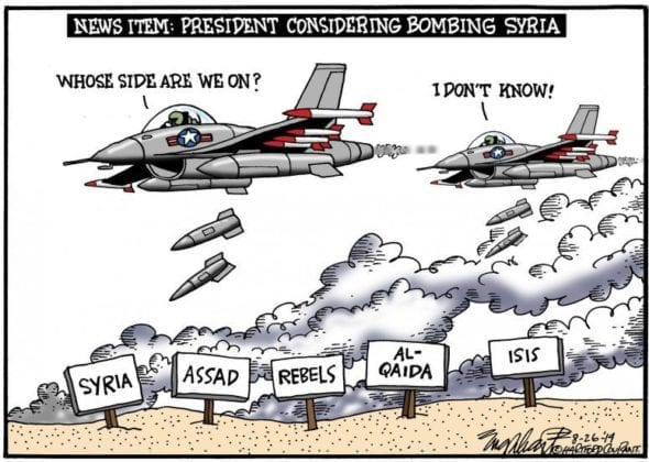 Rusko USA Sýrie