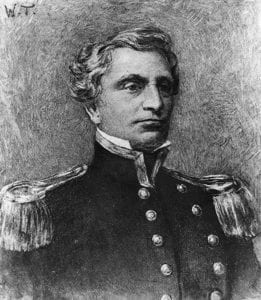 Josiah_Tattnall, pre Civil War (By Unknown - U.S. Naval Historical Center Photograph., Public Domain)